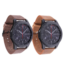 MJeess Genuine Leather Watchband 22mm Quick Release for Samsung Gear S3 Classic Frontier Gear 2 Watch Band Wrist Strap стоимость