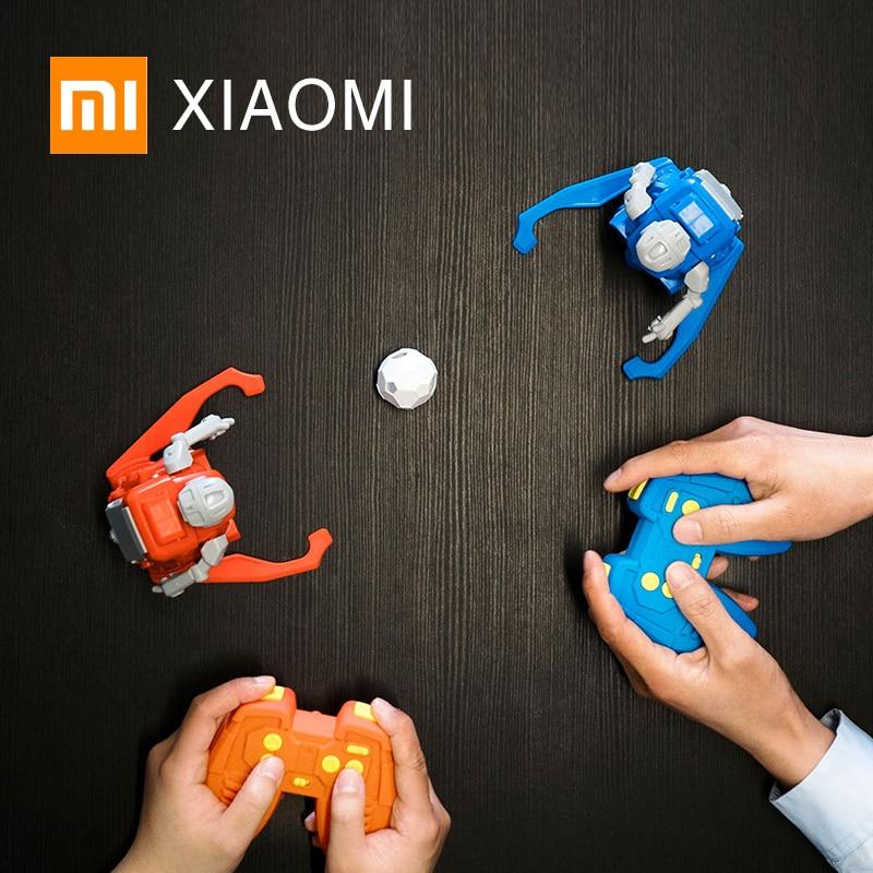 Nuovo XIAOMI NORMA MIJIA SIMI di calcio Robot intelligente di controllo remoto giocattolo Elettrico di Calcio Coppa Del Mondo di calcio regalo di compleanno per bambini-in Action figure e personaggi giocattolo da Giocattoli e hobby su  Gruppo 1