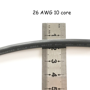 Image 3 - 50m 26AWG 2core 3core 4core 5core 6core 7core 8 core Computer Wire UL2464 Channel Audio Line Signal Cable Electric LED Cable