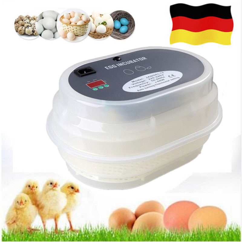 Home use small mini egg incubator full automatic digital clear temperature control Auto hatchers on sale fashion automatic incubator 48 egg on sale free ship to eu