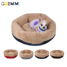 Top Quality Corduroy Dog Bed Sofa Soft Cotton Warm Mat House Cot Pet Cat Beds for dogs Big Blanket Cushion Basket