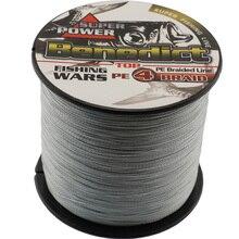 500M grey braided wire Japan Multifilament PE Braided Fishing Line 6Lb 8LB 10LB 20LB 60LB 80LB sea fishing super fishing cord