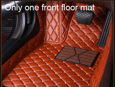 CARSTYLING UK ORIGINAL UNIVERSAL BLACK MATS WITH RED HEART HEEL PAD