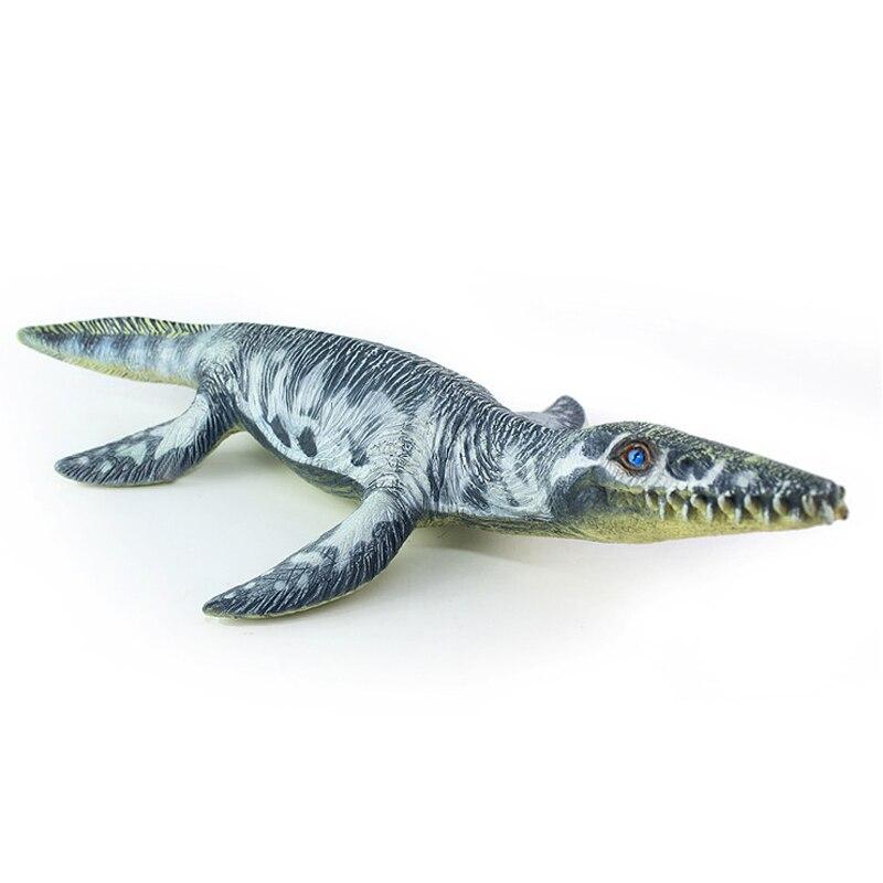 37 cm Simulation Sea Life Liopleurodon Dinosaurs Soft PVC Action Figure Toy Doll Kids Adult Collection Model Decoration Gift pvc figure the simulation model toy decoration tokyo tr ibe doll ornaments 9pcs set