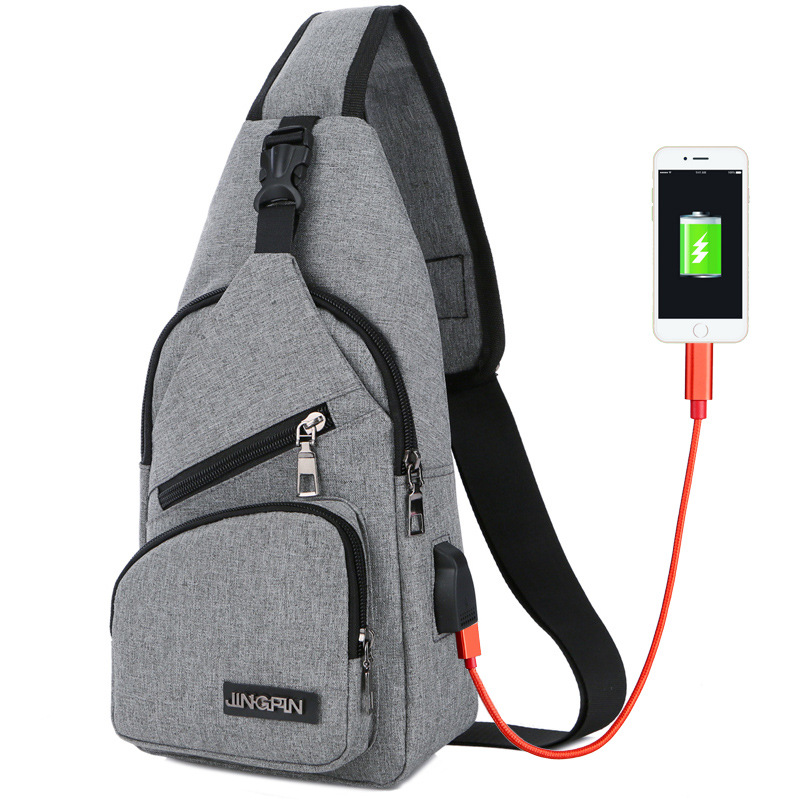 Outdoor Chest bag Men Shoulder Leisure Messenger Bag Cross-body multi-functional ultra-light Chest Pack Tourism Sports Sling Bag