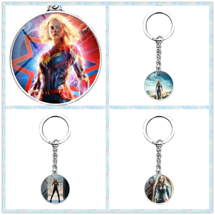 ZSQH 2019 Captains Alloy keychains cosplay Marvels nightmare hand toys for adults kids children christmas gifts women boy