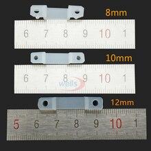 Горячая 50-100 шт силиконовый клип для фиксации 8 мм 10 мм 12 мм 5050 5630 1903 ws2811 цвет мечты светодиодные ленты светильник