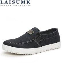LAISUMK Spring Autumn Men Casual Shoes F