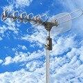 360 Rotación Digital Al Aire Libre Antena Amplificada TV TVAD DTV VHF UHF FM HD Rotor
