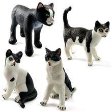 Artificial Mini Simulation cat animal Model Bonsai figurine home decor miniature fairy garden decoration accessories modern toy