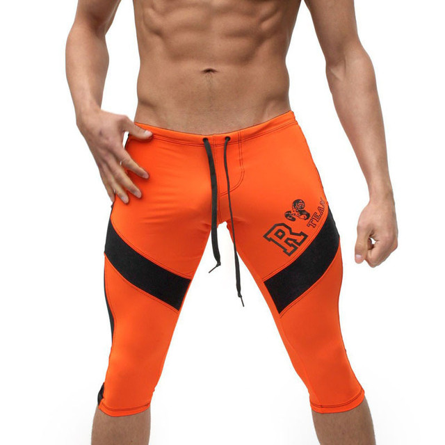 be74f0a85edaa Para hombre pantalones cortos para correr ropa deportiva de atletismo de  fitness shorts de compresión apretado