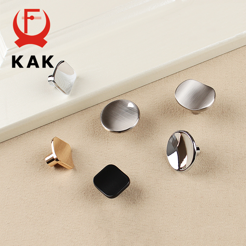 KAK Classic Design Zinc Alloy Cabinet Pulls Handles Cupboard Drawer Knobs Wardrobe Handle Modern Furniture Handle Hardware