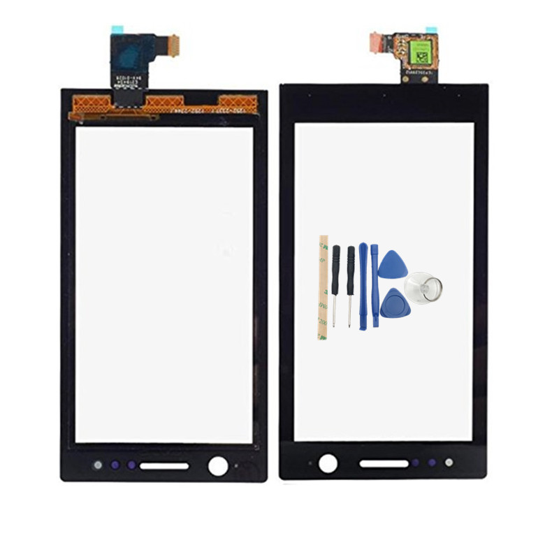 RTBESTOYZ 3.5''Front Touch Screen Digitizer Touch Panel Sensor Glass Flex Cable Lens For <font><b>Sony</b></font> Ericsson Xperia U <font><b>ST25</b></font> ST25i ST25a image