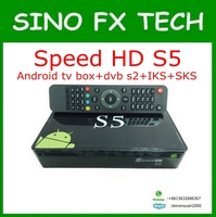 speed hd s5 Amlogic S805 android satelite sks iks permanent free for south amercia nagra3 pk tocomfree s929 plus