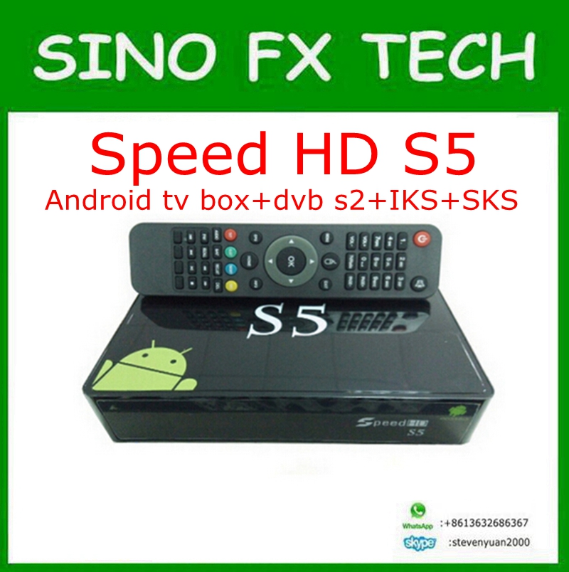 speed hd s5 Amlogic S805 android satelite sks iks permanent free for south amercia nagra3 pk tocomfree s929 plus цена