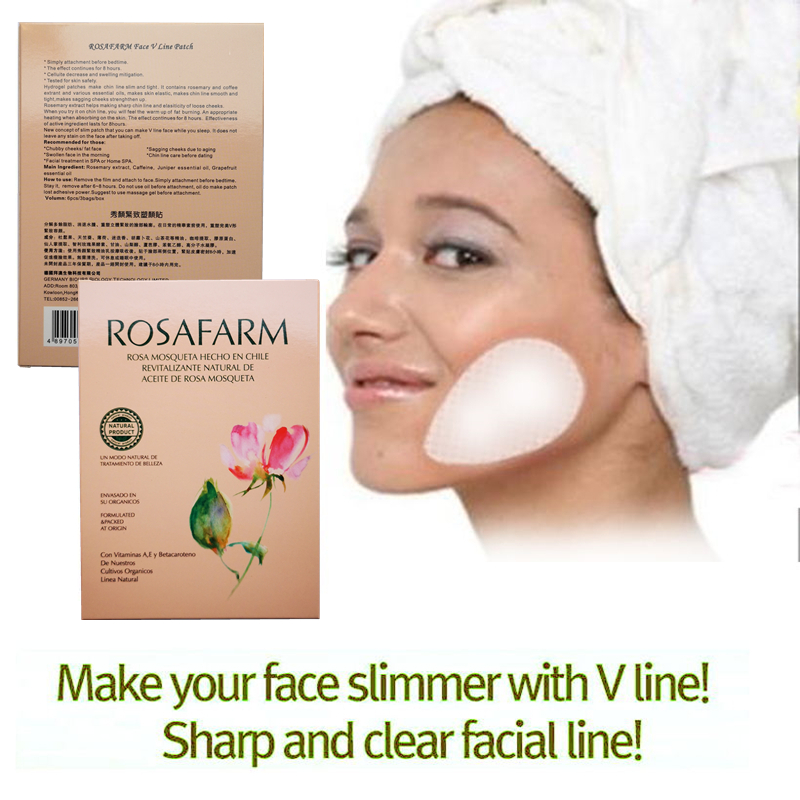 24pcs 12bags Face Slimming Patchs Reduces Facial Fat Removal Cellulite Cheeks Skinny V Line Face Sticker Weight Loss Product in Slimming Product from Beauty Health