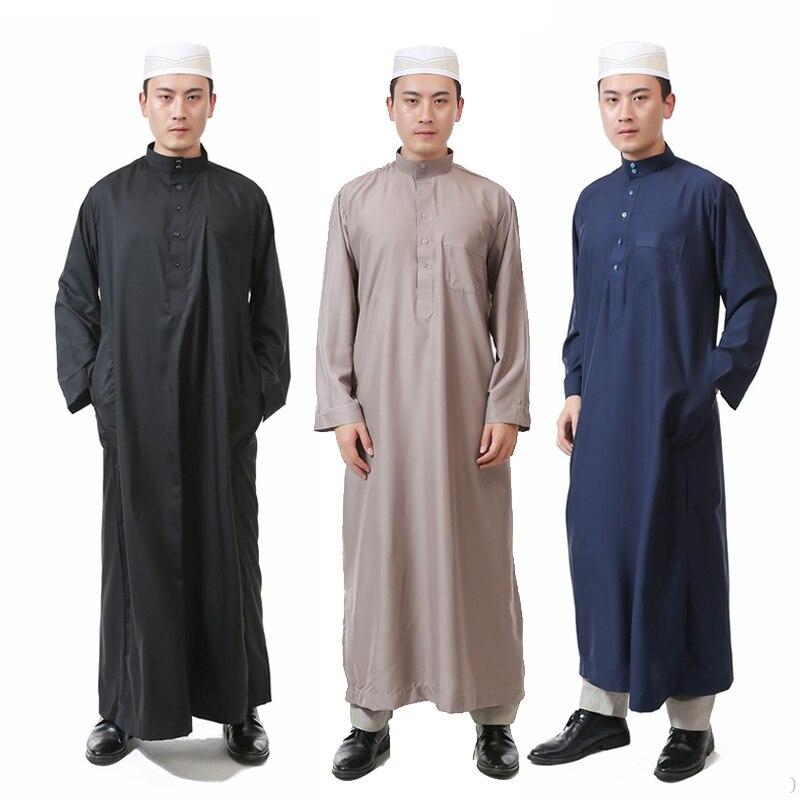 Omani muslimisch arabischer Herren Kleider Größe weiß Jubba Thawb