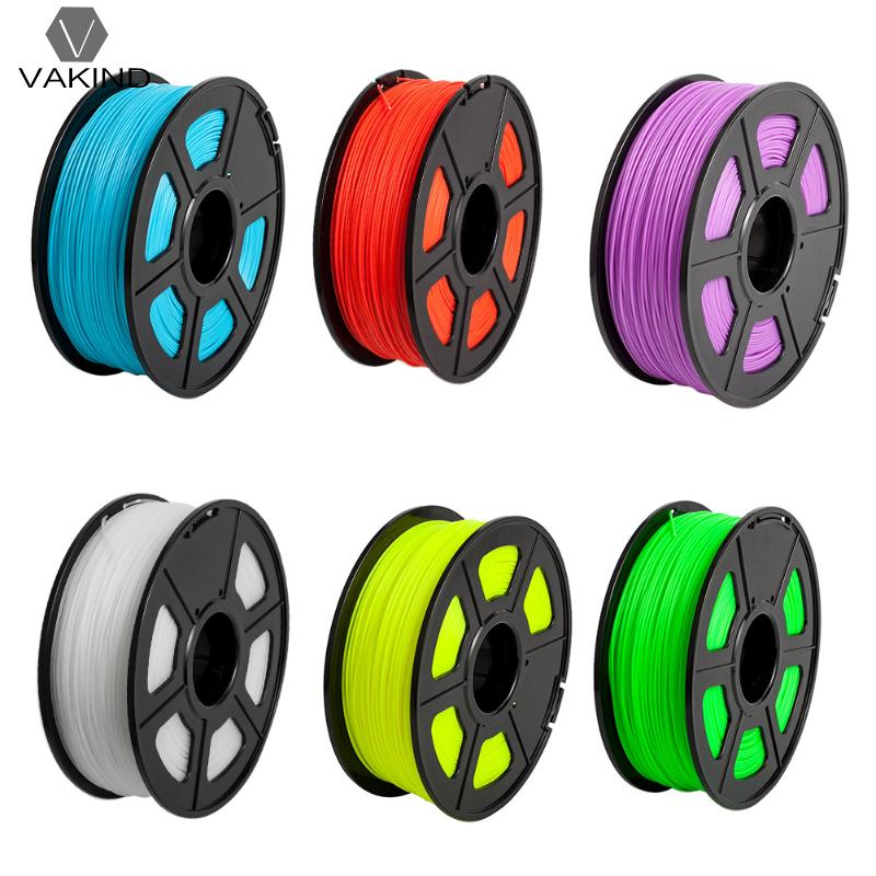330m 3D Printer Filament ABS Plastic 1 75mm Fluorescence Luminous Consumables Material for 3D Printer Pen