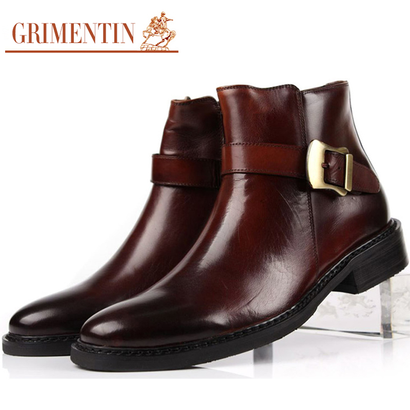 aliexpress buy fashion mens business ankle boots