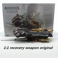 Role Playing New Assassin's Creed 1:1 Pirate Hidden Edward Kenway Toy Action Toy Gloves Invisible Blade Character Model Series