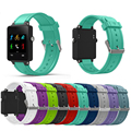 10 cores new substituição pulseira de silicone bracelet watch strap band para garmin vivoactive acetato esportes relógio pulseiras de relógio 1