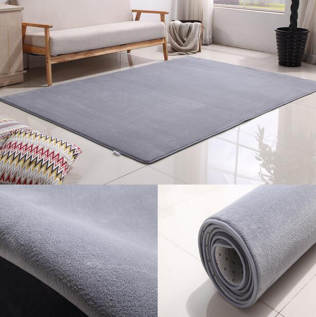 Customizable Large Size Coral velvet carpet for Living Room Bedroom kids rug home mat non-slip 80*160 100*160 sofa tea table mat