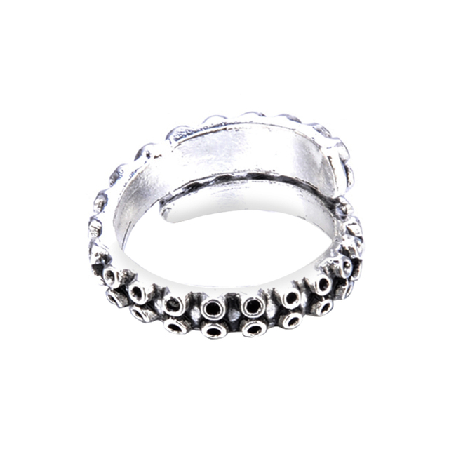 Women's Octopus Tentacle Adjustable Ring 5
