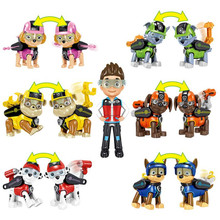 Paw Patrol Dog Puppy Anime Kids Toys Set Many Styles Action Figure Model Children Birthday Gifts