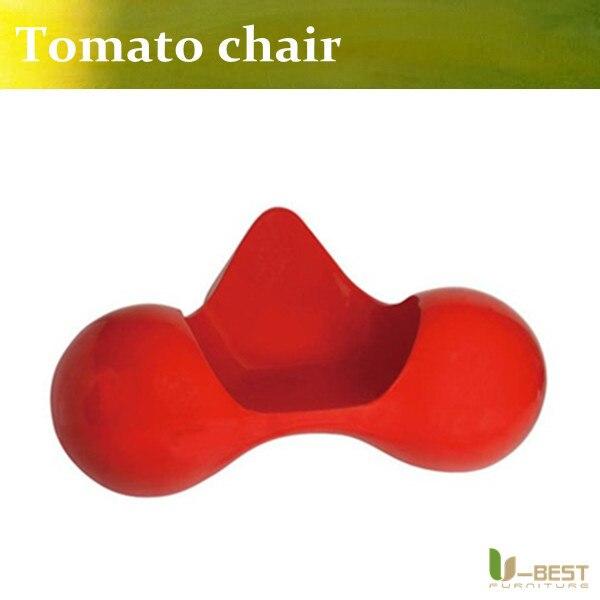 U-BEST high quality Tomato outdoor chair,modern classic designer fiberglass furniture ,fiberglass tomato chair, tomato chair u best high quality reproduction basculant chair lc1 chair famous classic replica furniture
