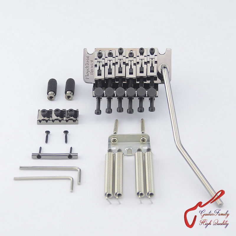 Genuine Original Floyd Rose Special Series Tremolo System Bridge FRTS5000 Black Nickel( without original package ) MADE IN KOREA genuine original floyd rose 5000 series electric guitar tremolo system bridge frt05000 black nickel cosmo without packaging