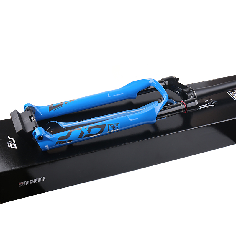2020 SRAM ROCKSHOX SID ULTIMATE RLC 29 Debon Air 100mm 1.5 fuselé BOOST 110x15mm télécommande bleu vtt fourche Suspension
