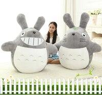 60CM Cartoon My Neighbor Totoro Plush Toys Smiling Soft Stuffed Toys High Quality Dolls 2Styles 1pcs/lot