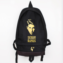 Sergio Ramos Canvas Backpack High Quality Men Women Large Capacity Laptop Bag Travel Backpack Casual Rucksack Mochila Escolar muzee canvas male backpack high capacity travel bag 15 6 inch laptop backpack men school bag rucksack mochila drop shipping