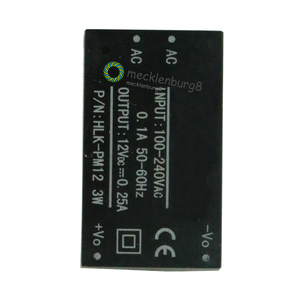 Image 2 - 220 V to 12 V step down power module converter Intelligent household switch HLK PM12 UL / CE