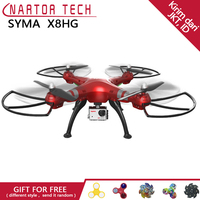 New Arrival SYMA Professional UAV X8HG 2.4G 4CH RC Helicopter Drones 1080P 8MP HD Camera Quadcopter Real time Transmit UFO Drone