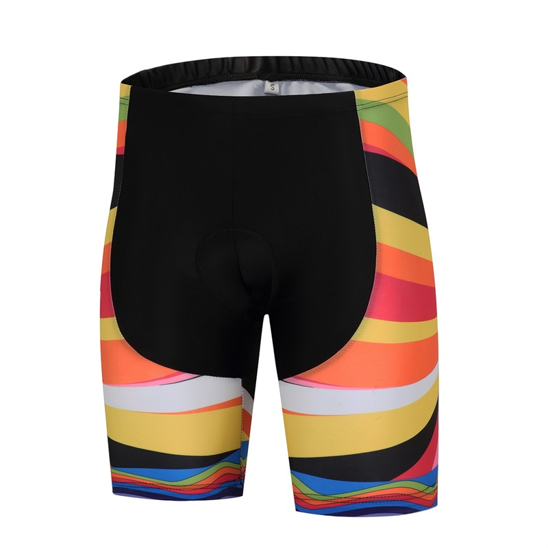 AN.RUICHI 2017 color professional bike sweat sweater riding shorts 9D silicone cushion back strap quick cycling sports shorts