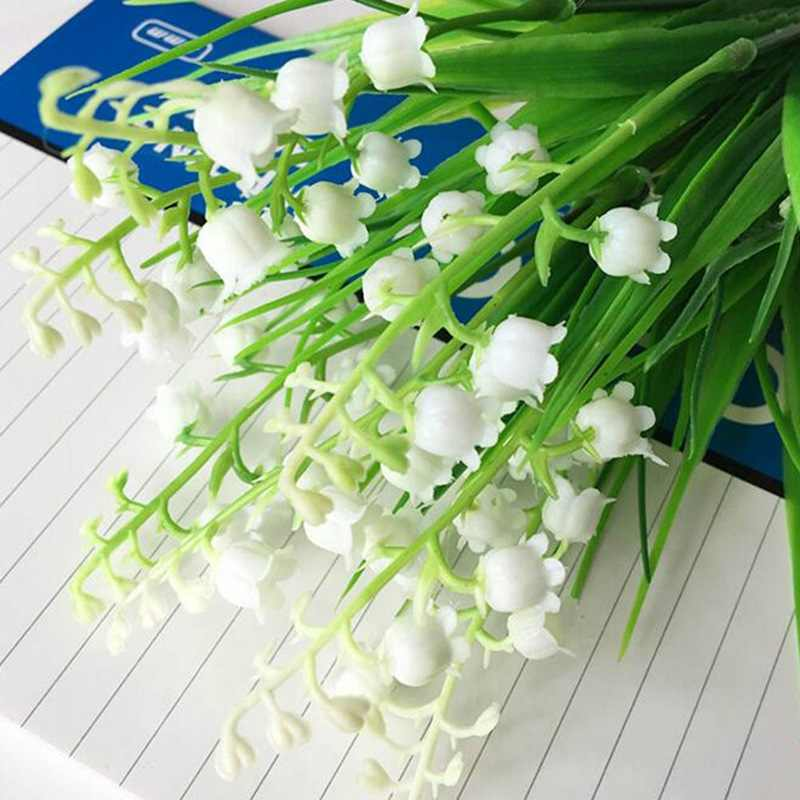 fda228d57f9 ... Bell Orchid Flower Campanula bonsai Flower seeds 4 colors Convallaria  Seed plant pot for home garden