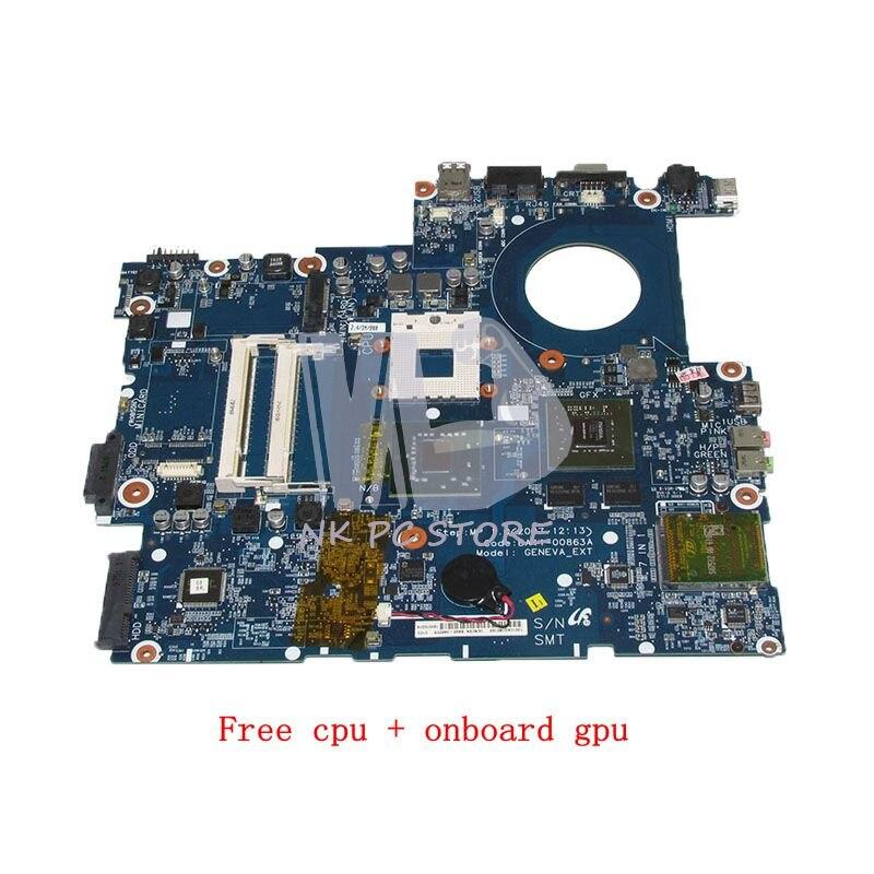 NOKOTION BA41-00863A CARTE PRINCIPALE Pour Samsung NP-R700 R700 Mère D'ordinateur Portable 965PM DDR2 Livraison cpu avec graphiques Discrets
