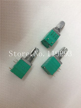 [БЕЛЛА] Тайвань запечатаны потенциометра R097 двойной точности с выключателем B10K объем потенциометра 15MMKQ — 50 шт./лот