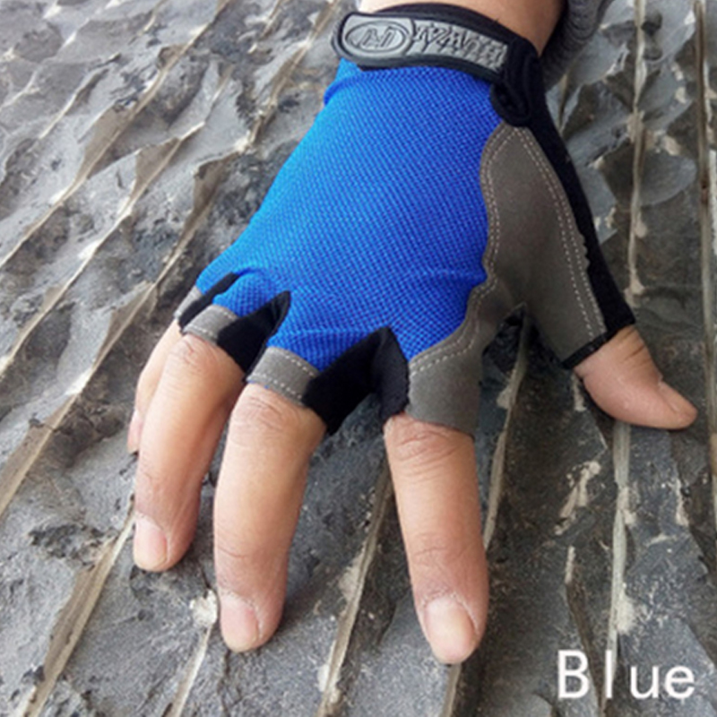 Long Keeper Fashion Riding Gloves Man Mountain Bike Mittens Fingerless Eldiven Men Women Exercise Breathable Fitness gants moto