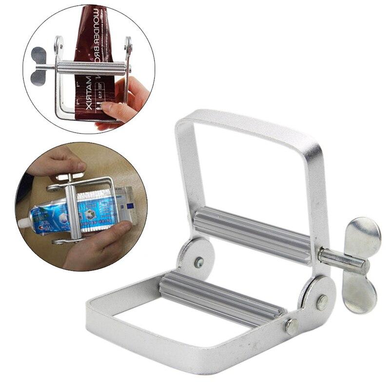 Aluminum multifunction squeezer /Toothpaste Dispenser Rolling Tube Push Squeezer Glue Bathroom Home Commodity
