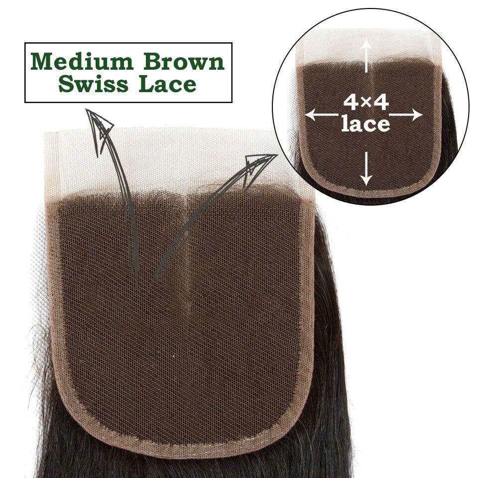 ali grace bundles straight hair bundles with closure (35)