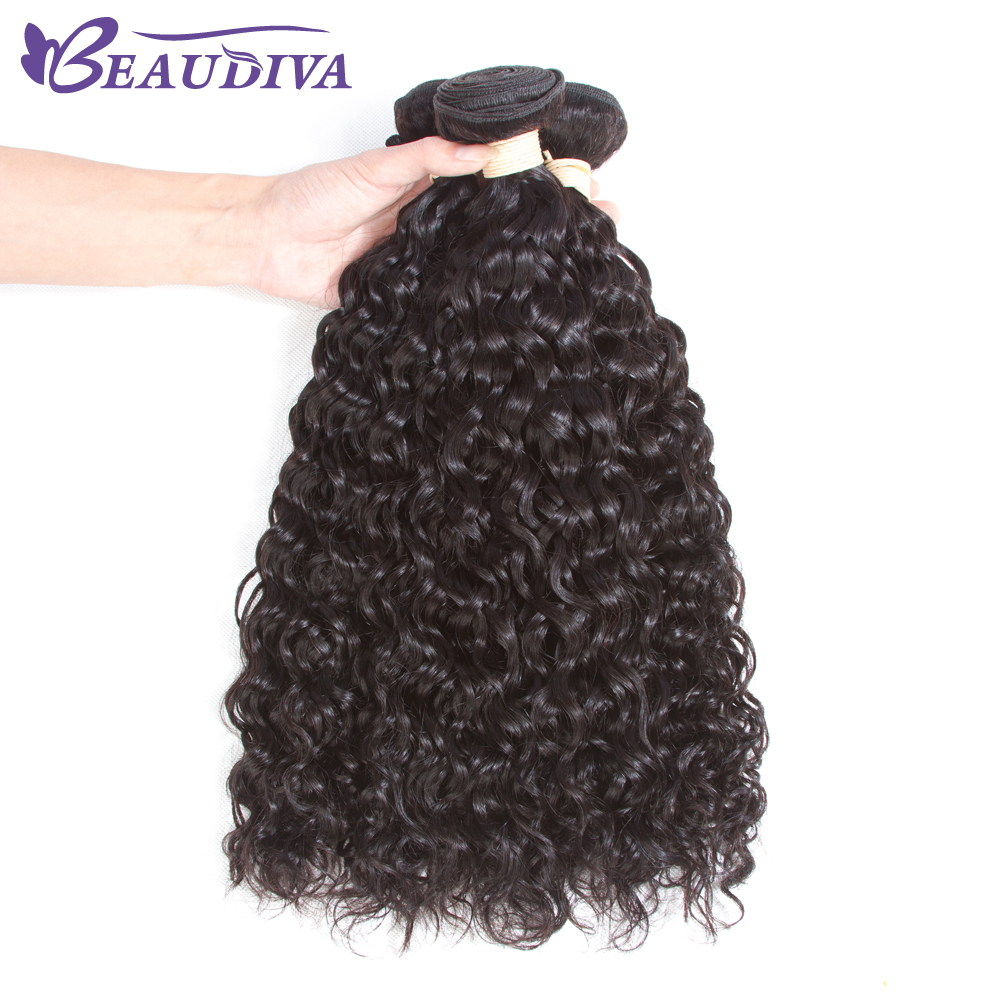 Beaudiva 2Bundles Malaysian Curly Hair 8-26 Inch Afro Kinky Curly Hair Natural Color Curly Hair Bundles Curly Weave Human Hair