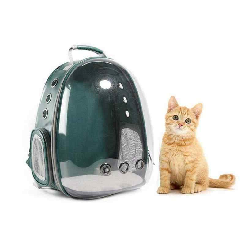 Portable Pet/Cat/Dog/Puppy Backpack Carrier Bubble, New Space Capsule Design 360 degree Sightseeing Rabbit Rucksack Handbag Tr