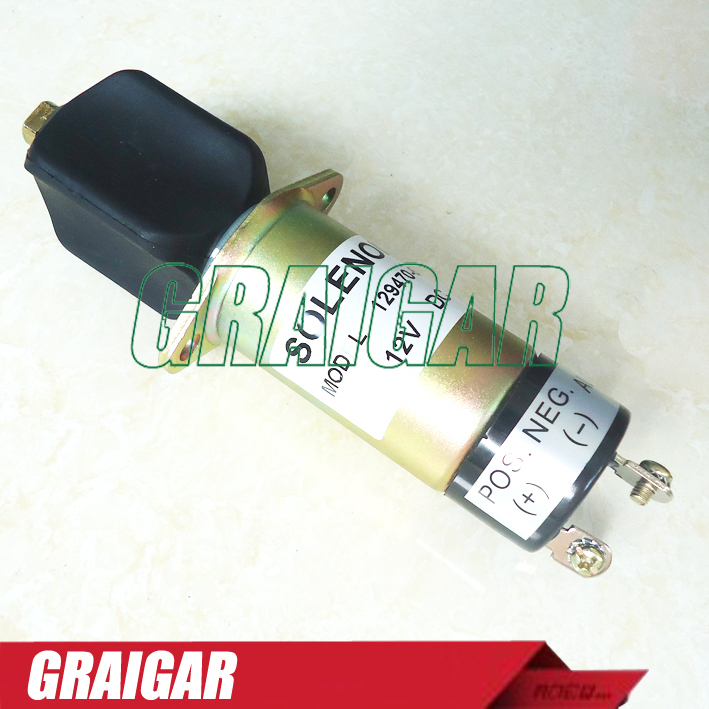 Engine Stop Shut Off Solenoid Valve 12V WOODWARD 307-2546 купить