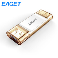 Eaget I60 OTG USB Flash Drive 32GB 64GB 128GB Lightning USB 3.0 MFI Pen drive 64GB Mini Pendrive memoria USB For iPhone iPad|USB Flash Drives| |  -