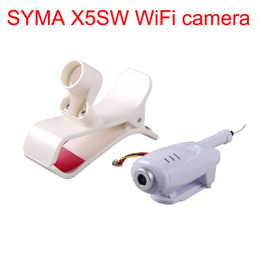 SYMA Drone WiFi Camera For X5C X5 X5SC X5SW X5HC X5HW FPV HD 2.0MP Camera With Phone Holder Stand RC Helicopter Accessories
