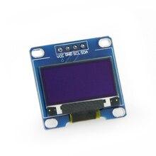 LILYGO®1pc biały kolor 0.96 Cal moduł wyświetlacza Oled 128*64 Oled wyświetlacz Lcd I2C 0.96 Iic Serial 128x64