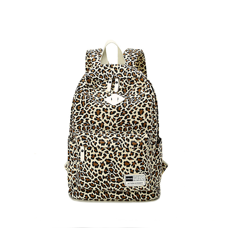 Detail Feedback Questions about AUGUR women girl backpack canvas printing Leopard  backpack backpack school bag for girls mochila escolar feminina on ...