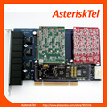 4 FXO+4 FXS Port TDM800P with Hardware Echo Canceller Asterisk FXS FXO digium card digium pci For IP phone System  TDM808B